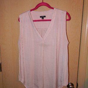 Alfani pink sleeveless blouse